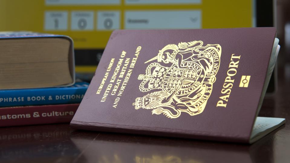 The UK has continued its four-year slide down the world's most powerful passports. Stock image. (PA)