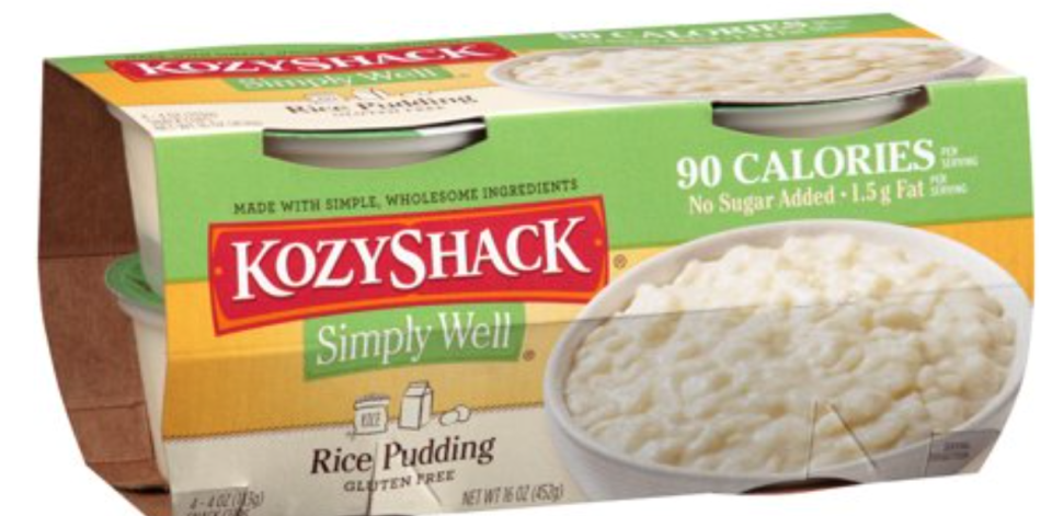 Kozy Shack Simply Well Rice Pudding