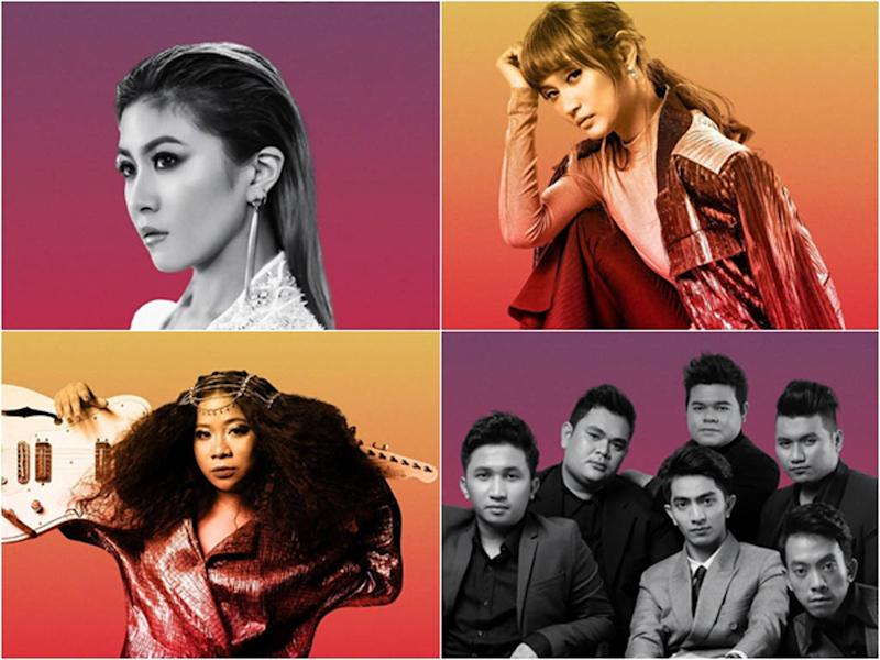Just a few of the Malaysian acts that will be performing at the festival in February.