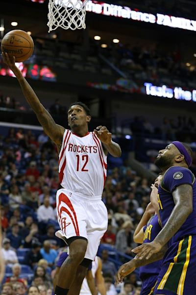 In Houston, Lou Williams scored 30 points off the bench as the Houston Rockets crushed the hapless Los Angeles Lakers 139-100