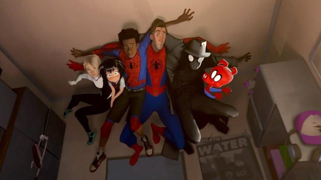 """Spider-Man: Into the Spider-Verse"" on Netflix. (Photo: Marvel)"