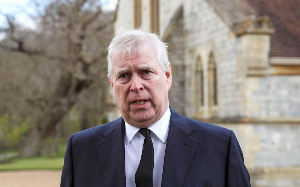 prince andrew - PA