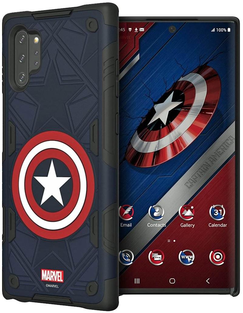 Captain America themed Galaxy Note 10 cover.Image: Evan Blass.