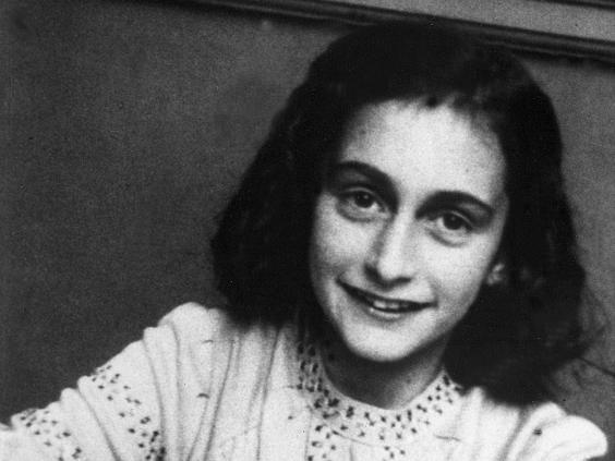 Anne Frank pictured in 1940 (Rex)