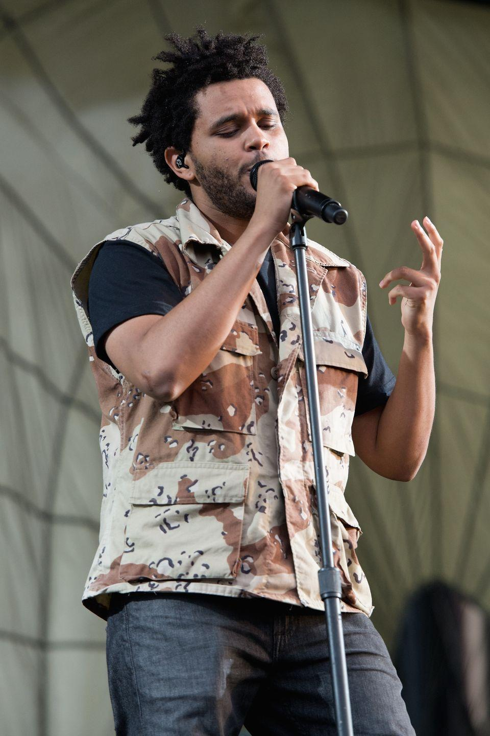 <p>By that summer, The Weeknd found his hair groove. He appeared on-stage at Lollapalooza sporting locs. </p>