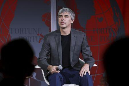 Larry Page, CEO and Co-founder of Alphabet, participates in a conversation with Fortune editor Alan Murray at the 2015 Fortune Global Forum in San Francisco