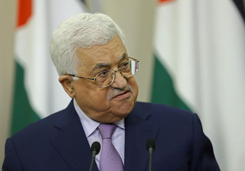 Abbas apologizes amid accusations of Holocaust denial