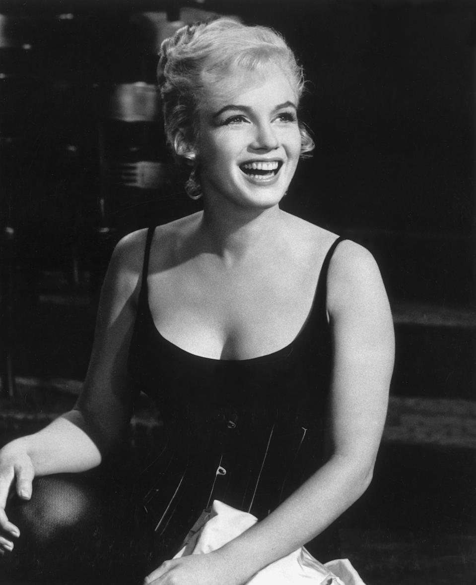 """Marilyn Monroe in a photo from """"Let's Make Love,"""" circa 1960 (Photo: Hulton Archive/Getty Images)"""
