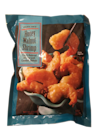<p>There's a surprising amount of shrimp in the bag, and the walnuts are a nice touch. Go easy on the sauce though: Across the board, you can probably make do with about half the sauce packets in the frozen meats and shrimps.</p>