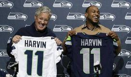 Harvin lands on PUP list with hip injury