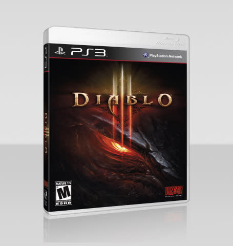 Diablo III for PlayStation 3 Box Cover (Photo: Business Wire)