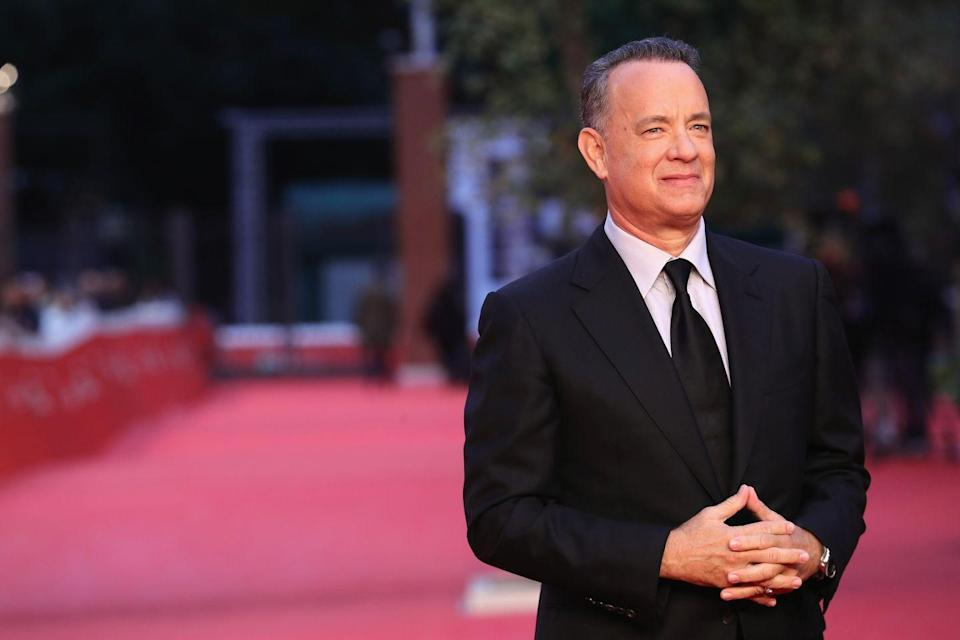 <p>Hanks had to gain 50 pounds before filming started on <em>Cast Away </em>to look like a middle-aged man, then production took a year off so he could drop the weight for the second half of the film. </p>