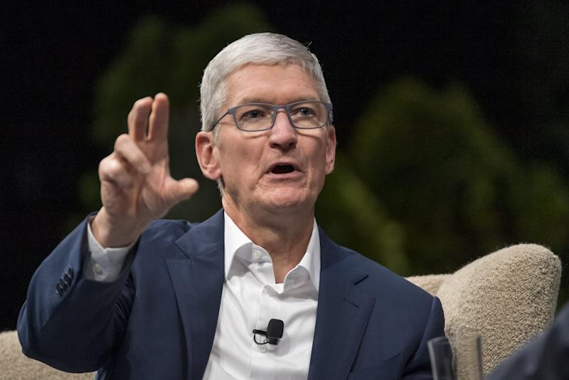 Apple's Tim Cook releases opening assertion in advance of antitrust listening to