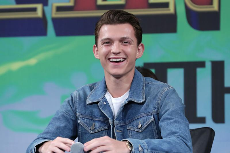 Twitter Is Having A Fit Over Tom Holland's Newly-Shaved Head