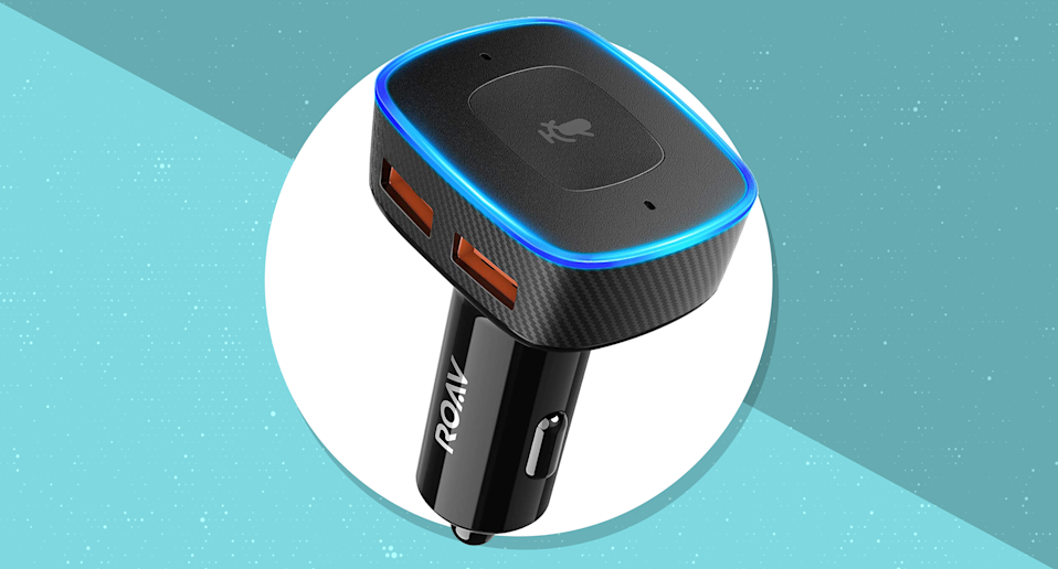 Get this Roav Viva by Anker Alexa-Enabled Car Charger for just $20 with this special promo code. (Photo: Roav)