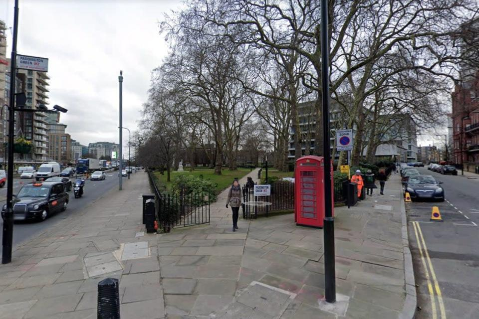 <p>Police were called to reports of a stabbing in Paddington Green</p> (Google Maps)