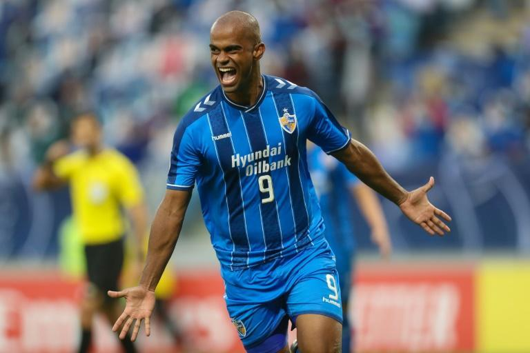 Junior Negrao scored both goals for Ulsan in a 2-1 victory over Persepolis in the AFC Champions League