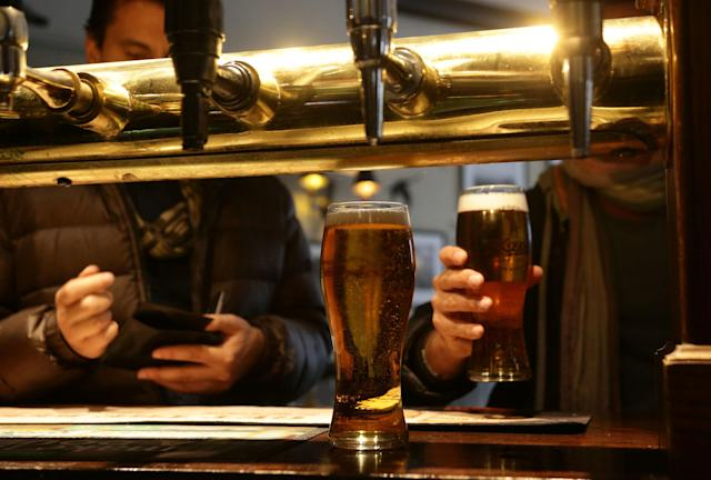 A government adviser has suggested restricting customers to two to three pints each once pubs reopen and social distancing is eased. (PA)
