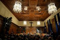 A French eyewitness says the 1945-46 Nuremberg war crimes trials set a 'model' for future international justice