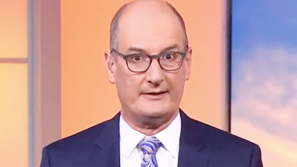 Sunrise host and Port Adelaide chairman David Koch has been denied entry to South Australia for the Power's preliminary final against the Western Bulldogs. Picture: Channel 7