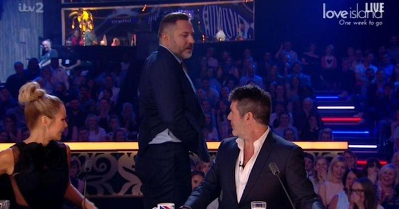 Britain's Got Talent judge David Walliams flashed his flesh for a second time this series (Photo: ITV)