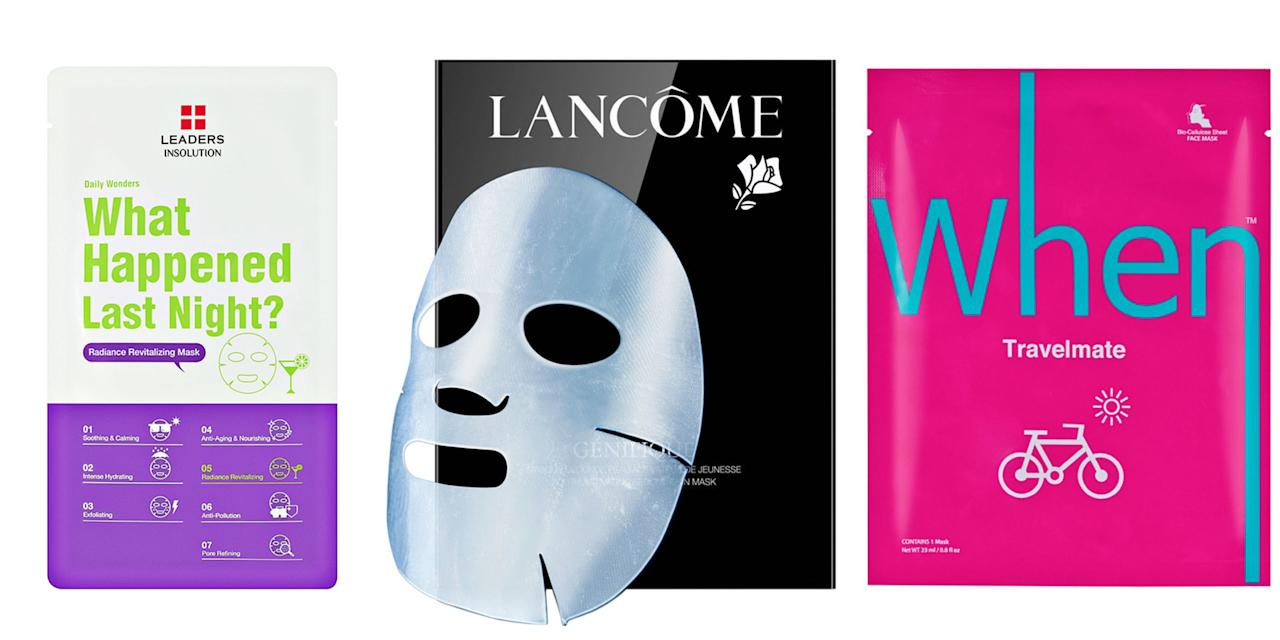 <p>You're not done packing until you slip one of these face masks into your carry-on.</p>