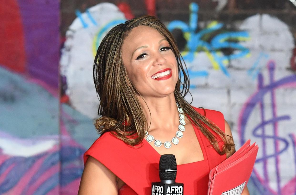 """""""F--- Andy Lack"""": Melissa Harris-Perry. (Photo: Paras Griffin via Getty Images)"""