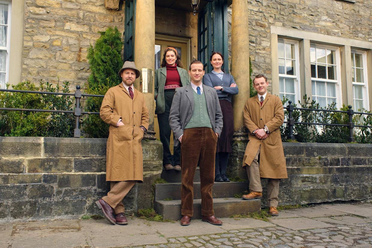 The <em>All Creatures Great And Small </em>cast are back for series 2. (Channel 5)