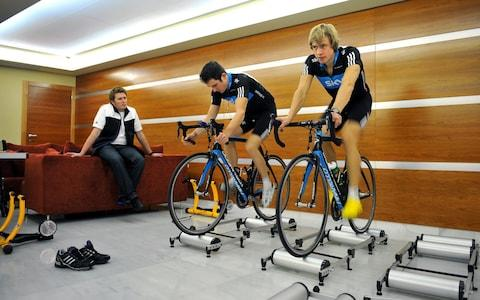 <span>Ellingworth (left) was a trusted confidant and mentor for many riders at Team Sky</span> <span>Credit: Getty Images </span>