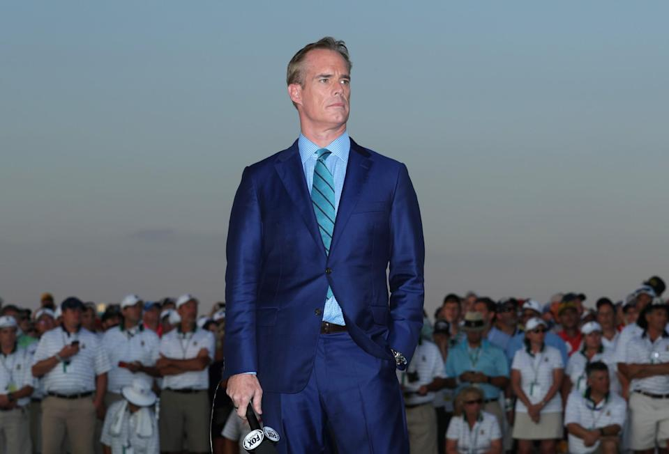 Joe Buck thinking about all the reasons he hates your team. (Getty Images)