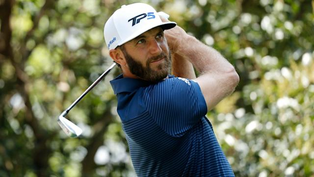 World No.1 Dustin Johnson is back from missing the Masters after a freak stairs accident.