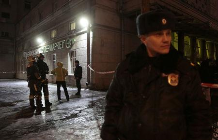 St Petersburg supermarket blast suspect arrested