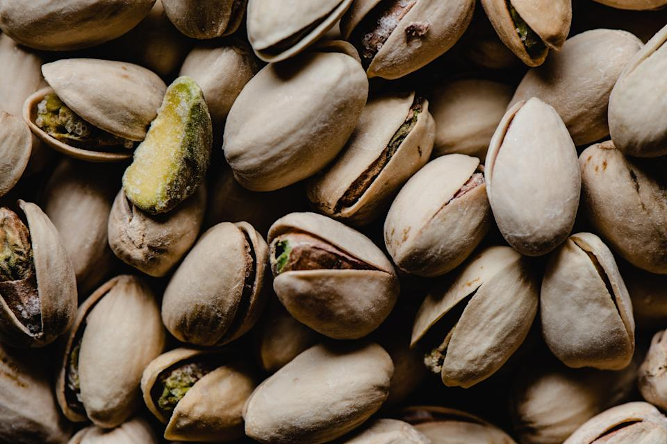 A California man is charged with stealing 42,000 pounds of pistachios.