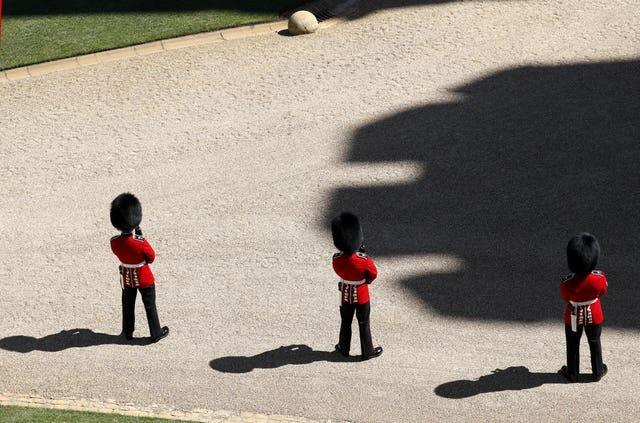 Members of the Coldstream Guards