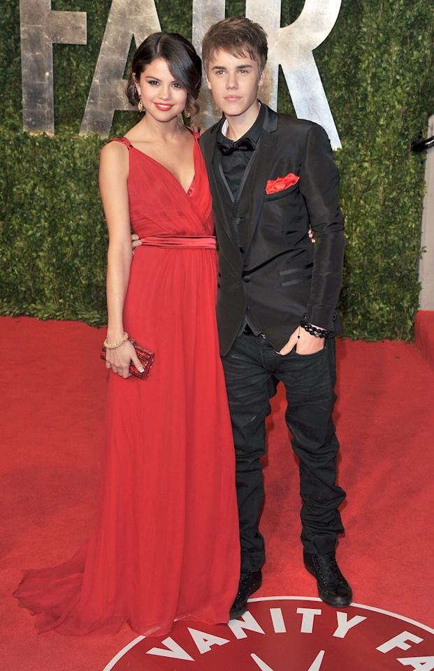 "Although they initially wrote off their 2010 date at a Philadelphia IHOP as a friendly hangout, Justin Bieber and Selena Gomez finally went public as a couple at the<em> Vanity Fair</em> Oscars Party in February 2011. That same year, Gomez opened up to <i>Seventeen</i> about coming forward with their relationship after months of being coy.   ""I don't like hiding. I do like to keep certain things to myself, but at the end of the day, I'm 18 and I'm going to fall in love,"" she revealed. ""I'm going to hang out with people and I'm going to explore myself, and I'm okay with that."""