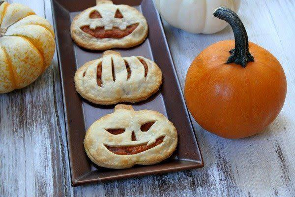 """It's easy to forget pumpkin packs a serious nutritional punch when it's covered in sugar and whipped cream — but you'll feel relatively guilt-free about serving these pop tarts to kids on the regular. <a href=""""http://www.recipegirl.com/2013/10/07/pumpkin-pie-pop-tarts/#_a5y_p=1019250"""" rel=""""nofollow noopener"""" target=""""_blank"""" data-ylk=""""slk:Find the recipe at Recipe Girl"""" class=""""link rapid-noclick-resp"""">Find the recipe at Recipe Girl</a>."""
