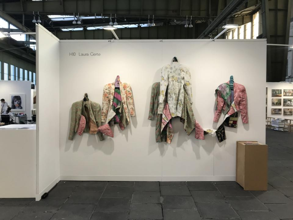 Laura Gerte's installation at Fashion Positions.  - Credit: Laura Gerte