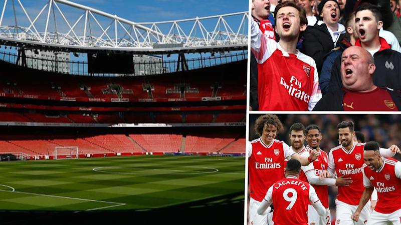 Arsenal hope to have fans back in Emirates Stadium on October 3 for Sheffield United clash