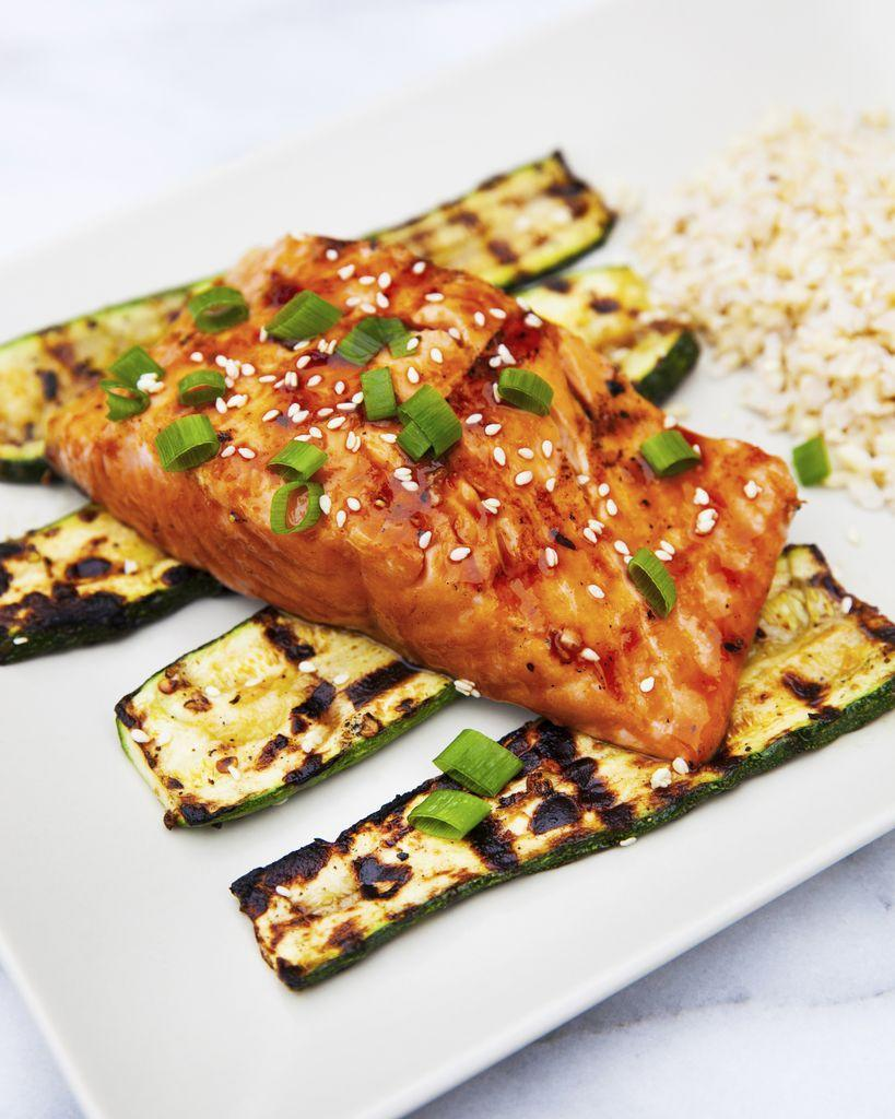 "<p>This is the fastest and easiest way to cook salmon ever.</p><p>Get the recipe from <a href=""https://www.delish.com/cooking/recipe-ideas/recipes/a53482/best-bbq-salmon-recipe/"" rel=""nofollow noopener"" target=""_blank"" data-ylk=""slk:Delish"" class=""link rapid-noclick-resp"">Delish</a>.</p>"
