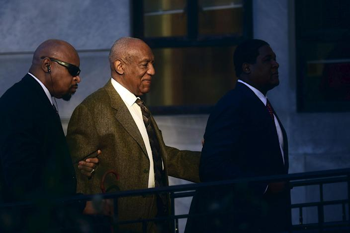 <p>FEB. 2, 2016 — Actor and comedian Bill Cosby arrives for a preliminary hearing on sexual assault charges at the Montgomery County Courthouse in Norristown, Pennsylvania. Cosby has been charged with the 2004 sexual assault of Andrea Constand, a former women's basketball team manager at Temple University in Philadelphia, Cosby's alma mater. (Mark Makela/Reuters) </p>