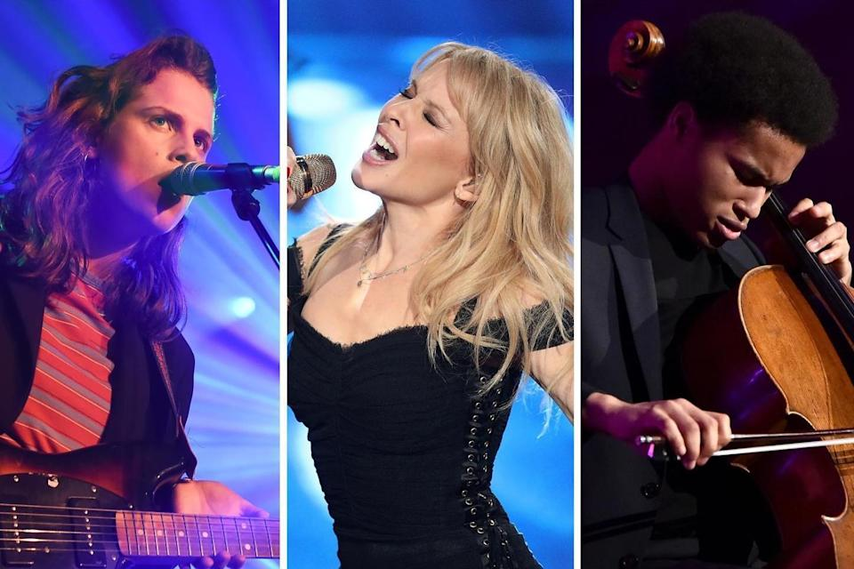 Coming up: Marika Hackman, Kylie Minogue and Sheku Kanneh-Mason are among the artists releasing fresh material in November (Getty Images)