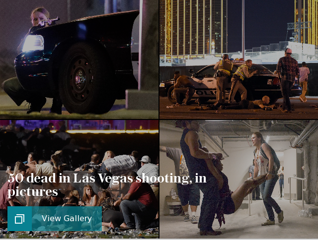 Las Vegas active shooter, in pictures