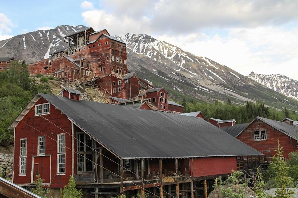 """<p><strong>Kennecott Mines - McCarthy, AK</strong></p><p>The former copper mining camp in southern Alaska has been shut down since the 1930s, but there is still <a href=""""https://www.adn.com/features/article/teeth-chattering-tales-kennecott-copper-mines-keeps-government-officials-away/2013/10/31/"""" rel=""""nofollow noopener"""" target=""""_blank"""" data-ylk=""""slk:plenty of reported activity"""" class=""""link rapid-noclick-resp"""">plenty of reported activity</a> on the site. Much of the facility still stands in its original form, including the iconic 14-story red mill building. Many people who explore the National Historic Landmark cite stories of the supernatural, perhaps from former miners who lost their lives in the very spot.</p><p>Photo: Flickr/<a href=""""https://www.flickr.com/photos/wrst/16451343073/in/photolist-8gneS1-8gngcw-8giYi4-jEA53-8gnmBC-8giZkM-8gj4CV-WR2F3-8gjbgF-8giXPz-8gjehn-8vv6tx-cadgdE-5izvB5-8vy9p9-8gnjY3-8vy99w-8gjhpr-8vy9gE-8vy8W1-8gnje3-8gnjwA-8gjb7T-8vv6g8-8gnpKy-jEA52-26Xq9Ve-JyxN7s-jEA54-gp2WCx-gp3m98-gp2A9q-gp2L6v-8gnkmb-8gnwzs-8gnoRs-s1y5qM-zUWXSL-r4KTJv-s1xEoP-r4Kr96-cadibj"""" rel=""""nofollow noopener"""" target=""""_blank"""" data-ylk=""""slk:Wrangell-St. Elias National Park & Preserve"""" class=""""link rapid-noclick-resp"""">Wrangell-St. Elias National Park & Preserve</a></p>"""