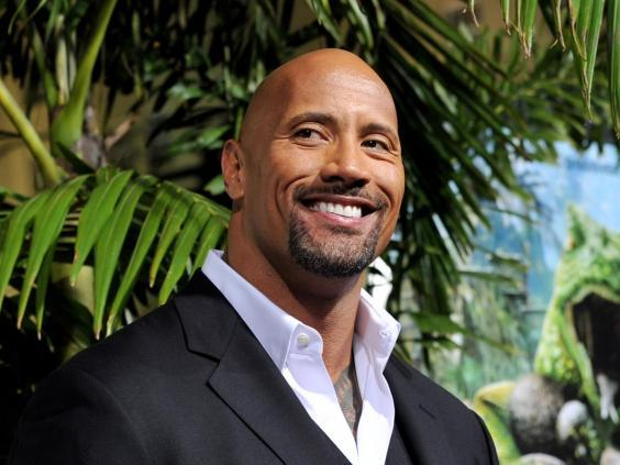 Dwayne 'The Rock' Johnson topped the highest-paid actors list for the second year running (Getty Images)