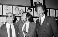 """<p>First movie: After a few uncredited film roles and a couple television roles, Morgan Freeman received his first credited film role in 1971. The film was called <a href=""""https://www.imdb.com/title/tt0067982/"""" rel=""""nofollow noopener"""" target=""""_blank"""" data-ylk=""""slk:Who Says I Can't Ride a Rainbow!"""" class=""""link rapid-noclick-resp"""">Who Says I Can't Ride a Rainbow!</a>, and follows the story of the last working farm in Manhattan. Freeman was 34-years-old at the time of the film's release.</p>"""