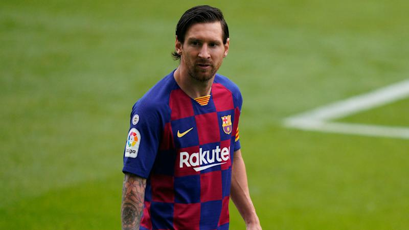 Lionel Messi's dad and agent Jorge arrives in Barcelona for showdown talks