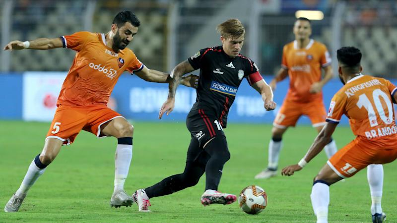 Federico Gallego FC Goa NorthEast United ISL 6