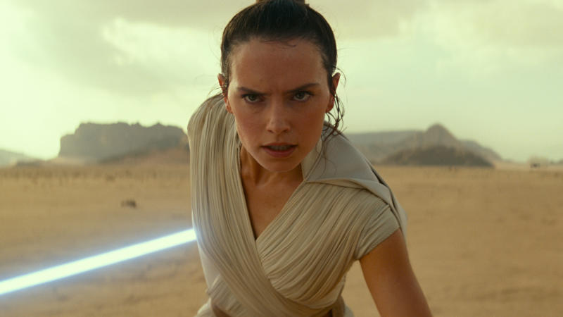 Daisy Ridley as Rey in 'Star Wars: The Rise of Skywalker'. (Credit: Disney/Lucasfilm)