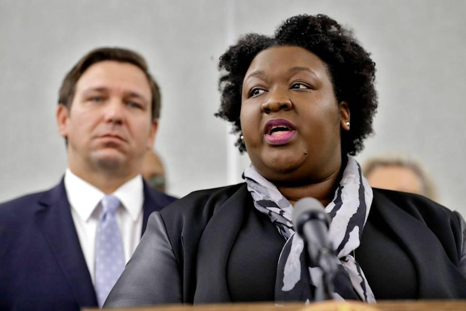 Shamarial Roberson is the Department of Health's deputy secretary for health.