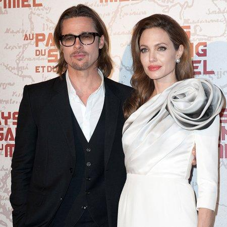Brad and Angelina enjoy private date